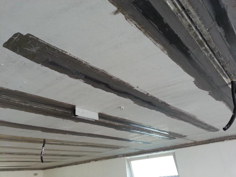 Rinforzo solaio e adeguamento sismico di un edificio residenziale a Pagnacco