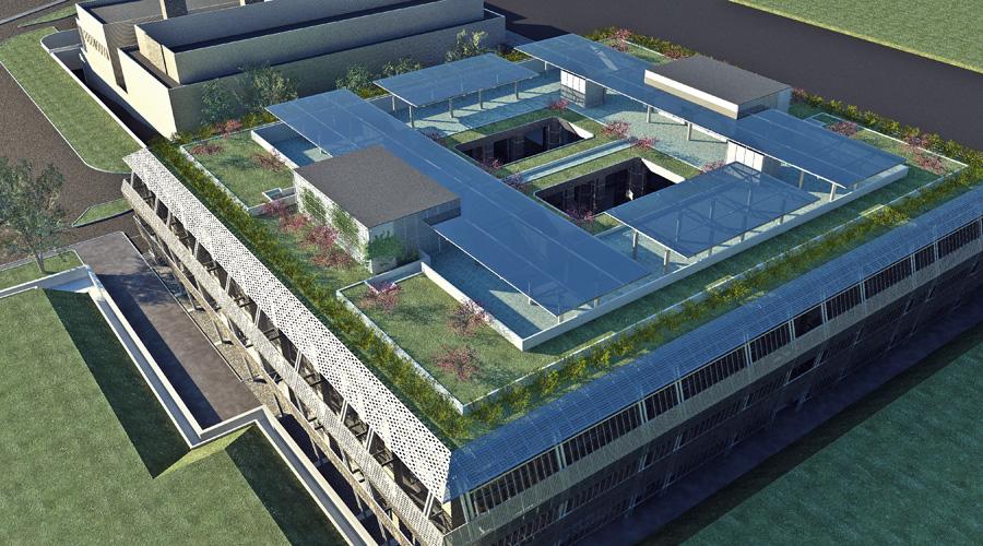 Centro Servizi e Laboratori presso l\'Ospedale di Udine