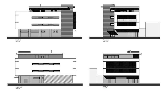 Realizzazione di complesso ad uso direzionale e residenziale a Udine