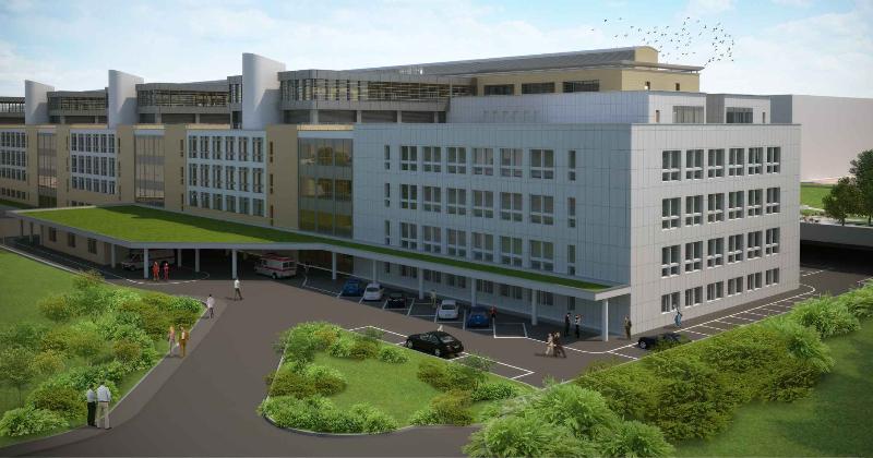 Progettazione del III e IV lotto dell'Ospedale di Udine