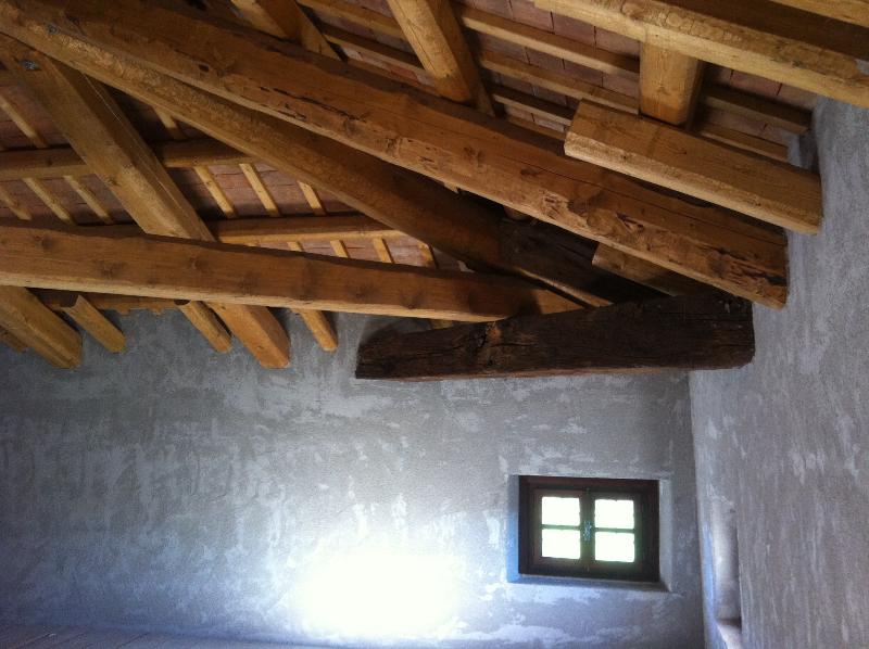 Rifacimento copertura in legno a Pagnacco