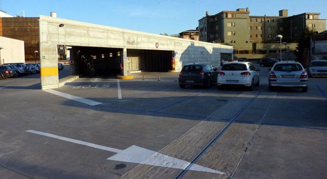 Parcheggio interrato di via Oberdan a Pordenone