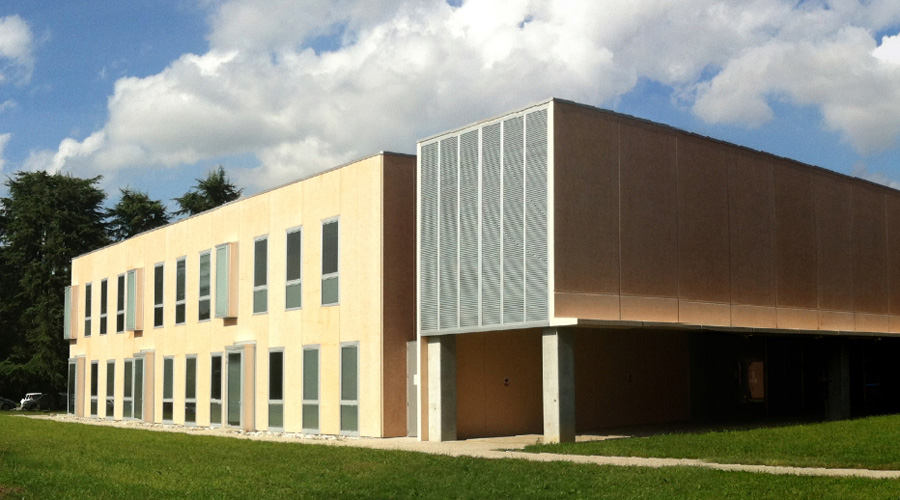 Edificio per la didattica presso il Polo scientifico a Udine