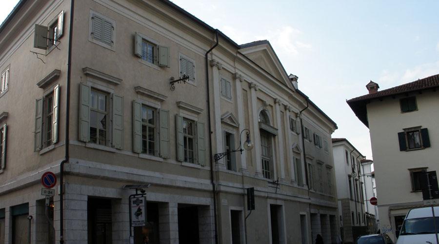 Restauro conservativo del palazzo Caiselli a Udine
