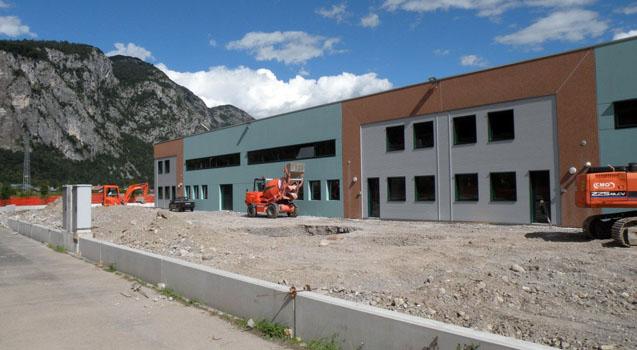 Capannoni industriali nel Comune di Villa Santina